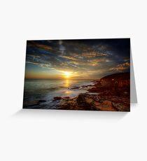 Maroubra Sunrise Greeting Card