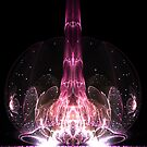 Dreaming of Rebirth - Abstract Fractal Artwork by EliVokounova