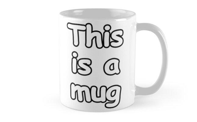 This is a mug by Kimillo
