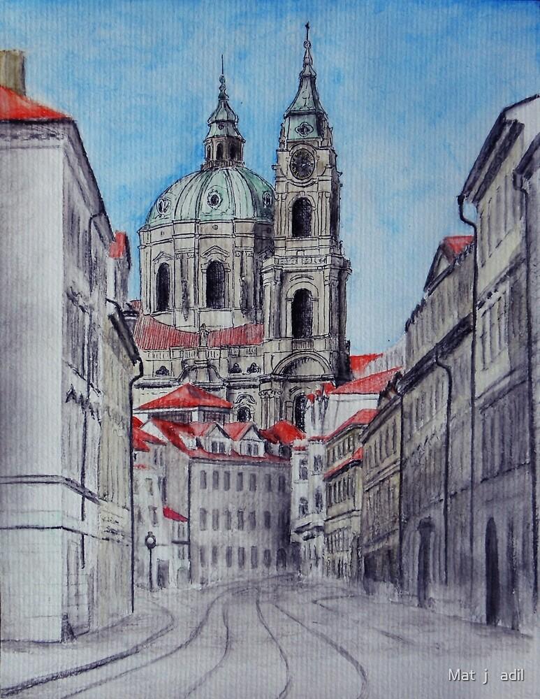 Church of St Nicholas by Matěj Čadil