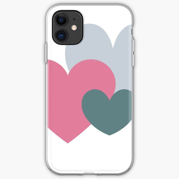 A family of hearts iPhone Soft Case
