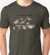 9 Shorebirds Unisex T-Shirt