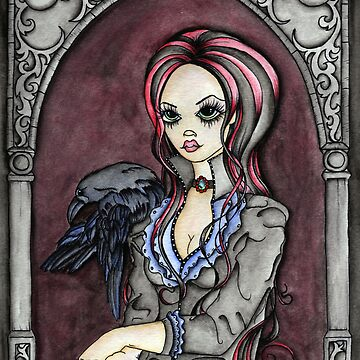 Lenore and the Raven by ckdesigns