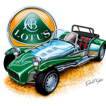 Lotus Caterham Super 7 BRG by davidkyte
