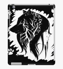 The Wolf and the Girl iPad Case/Skin