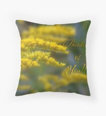 A little late (for Linda Makiej) Throw Pillow