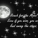 Reach for the Moon- Card by ArkansasLisa