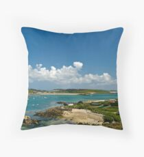 The Isles of Scilly Throw Pillow
