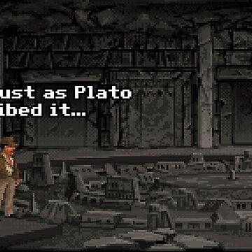 Just As Plato Described It by pixelskaya