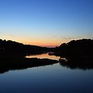 nightlight on the river by lucy loomis