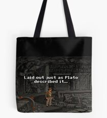 Just As Plato Described It Tote Bag