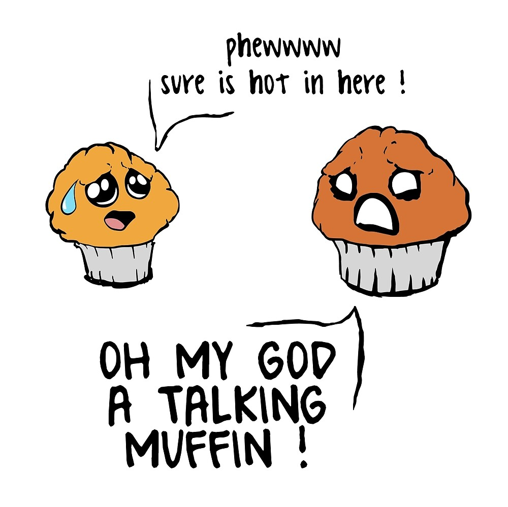 Two Muffins in an Oven by Andrew Wright