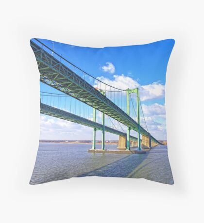 Bridge To Tomorrow Throw Pillow