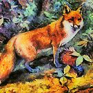 Red Fox by ellenspaintings