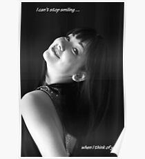 I Smile When I Think of You Poster