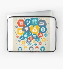 Business the person Laptop Sleeve
