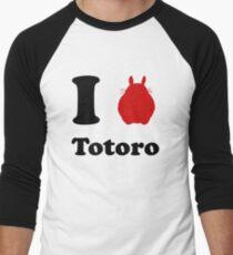 I Love Totoro Men's Baseball ¾ T-Shirt