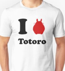 I Love Totoro T-Shirt
