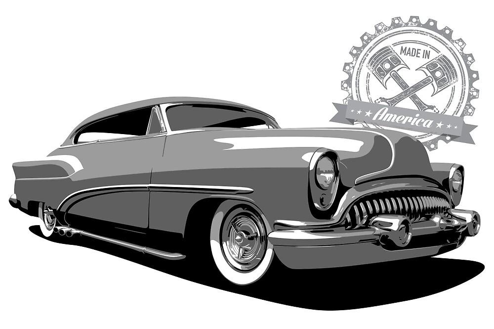 1954 Buick Hot Rod - Made in America by 6thGear