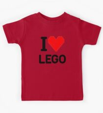 I Love LEGO Kids Clothes