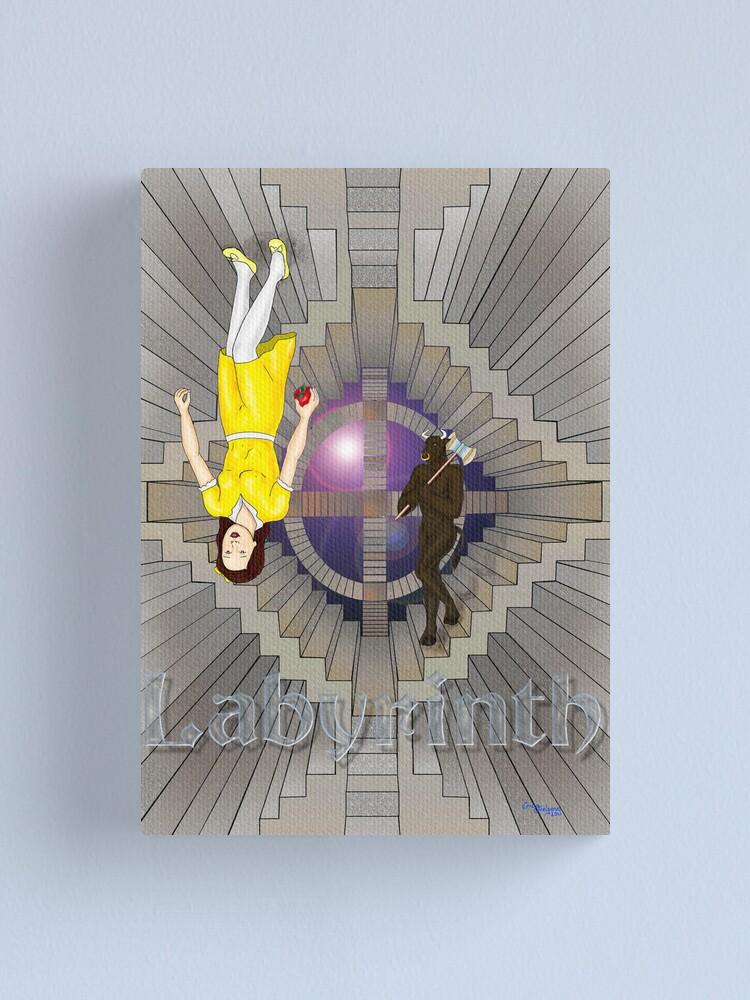 Alternate view of Labyrinth Canvas Print