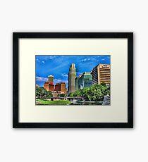 Good Morning Omaha Framed Print