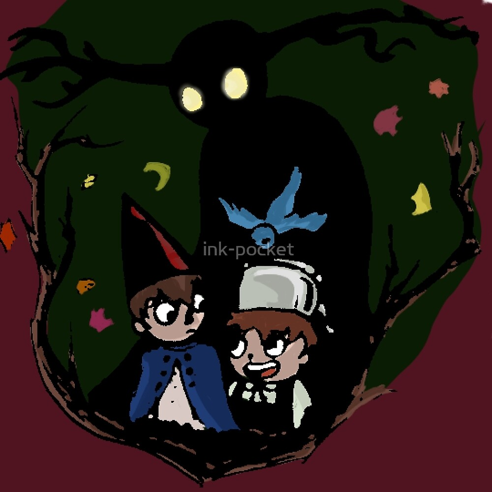 Over the Garden Wall  by ink-pocket