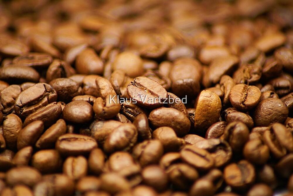 coffee beans wallpaper by Klaus Vartzbed