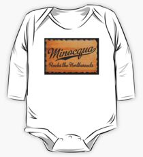 Minocqua Rocks the Northwoods One Piece - Long Sleeve