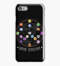 Pokemon Super Effective Type Chart iPhone Case/Skin