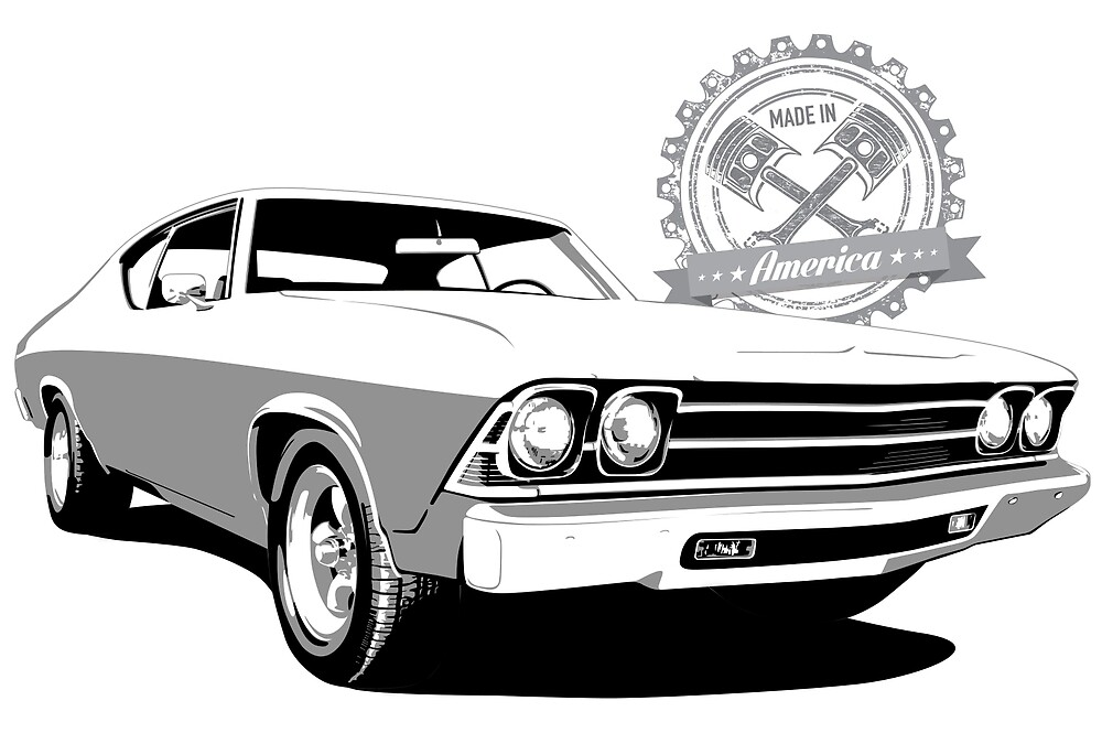 Copy of 1969 Chevelle SS - Made in America by 6thGear