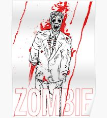 Zombie Office party Poster