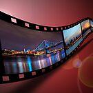 Philadelphia Filmstrip by Michael Mill
