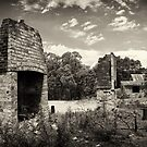 Ghost Town Ruins by Dilshara Hill