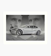 Tesla Art Print