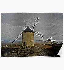 Windmills - Consuegra Poster