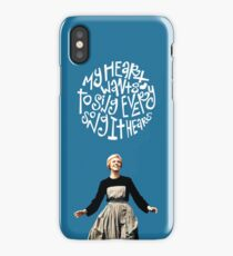 look to the hills iPhone Case/Skin