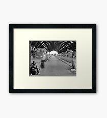 Morning Train Framed Print