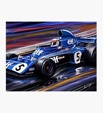 Jackie Stewart Tyrell  Photographic Print