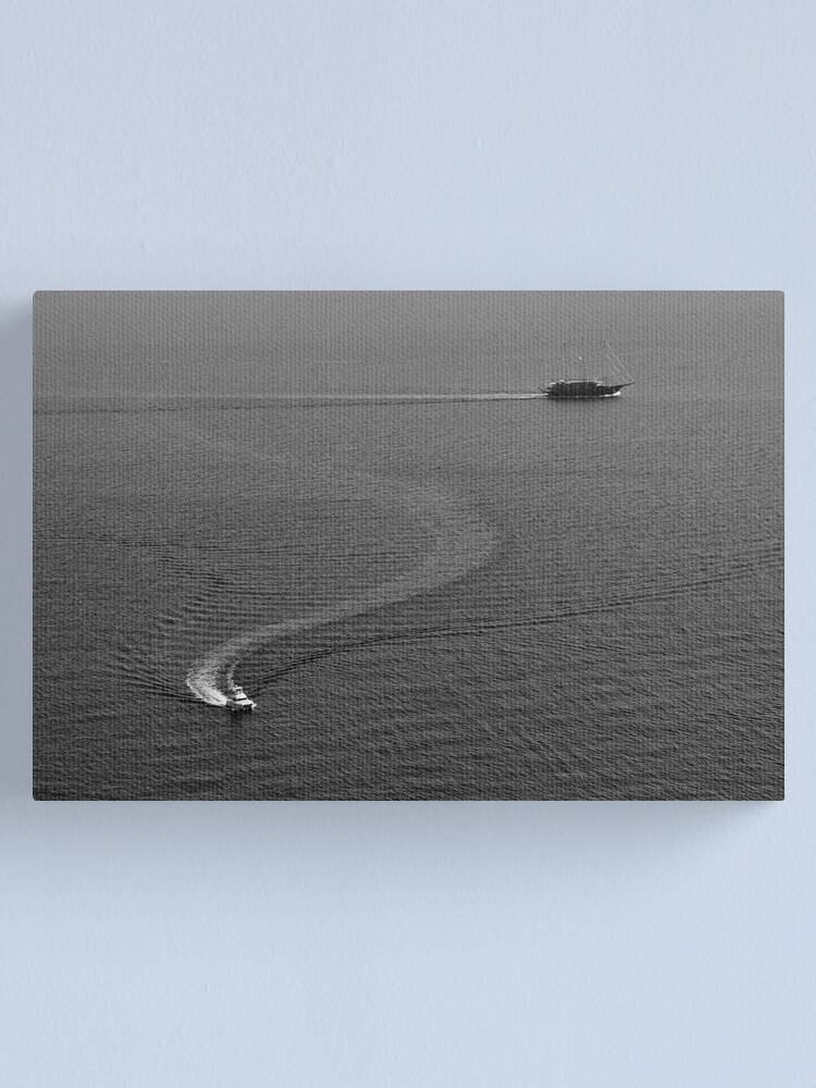 Alternate view of Two Boats Canvas Print
