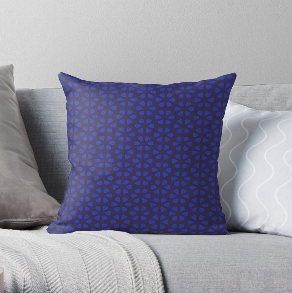 Hearts,decor,wood style Throw Pillow