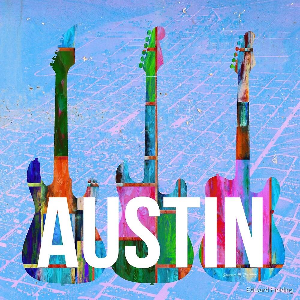 Austin Texas Guitars by Edward Fielding