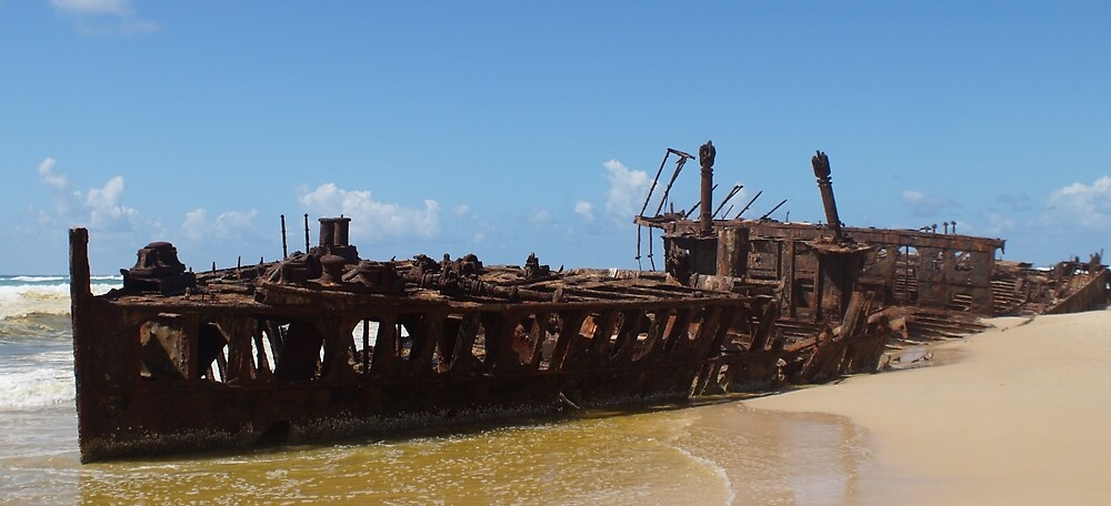 SS Maheno by WessexBoy