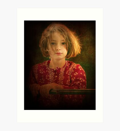 beautiful child Art Print
