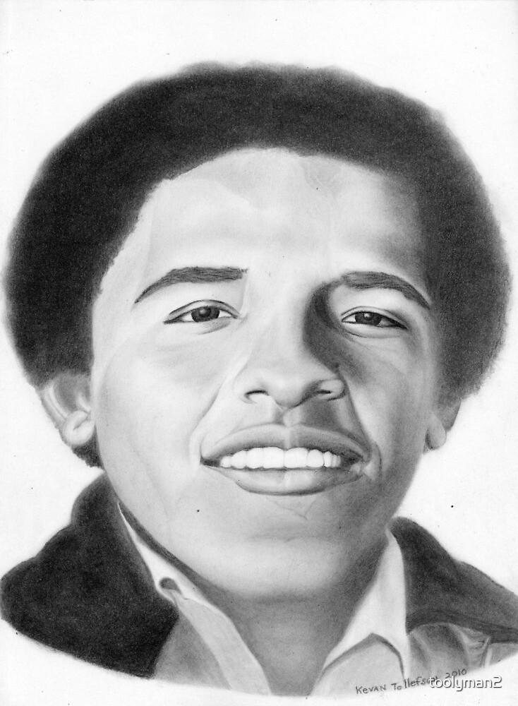 Obama at Harvard by toolyman2