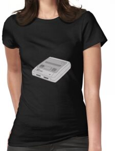 Snes Super Nintendo Womens Fitted T-Shirt