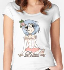 Blue Haired Lolita Women's Fitted Scoop T-Shirt