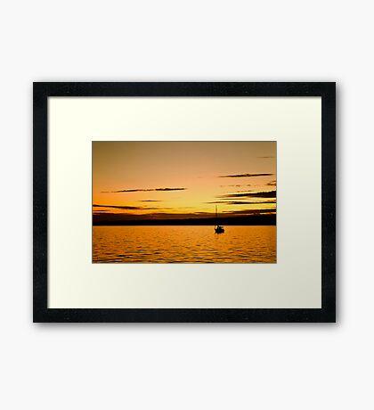 Summer Serenity Framed Print
