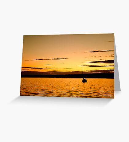 Summer Serenity Greeting Card