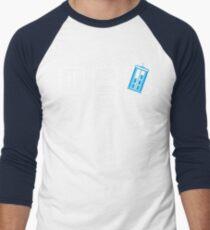 Eat, Sleep, Who Men's Baseball ¾ T-Shirt